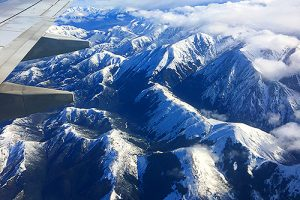 New Zealand - Plane trip