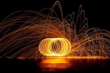Photography Workshop Steel-wool spinning