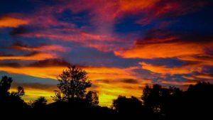 Beginner photography - Sunset