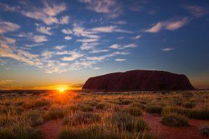 Uluru sunrise retreat