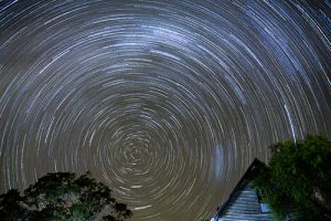 Astral photography Star Trails